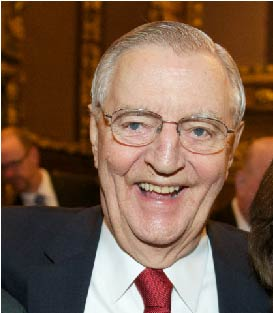 Former Vice President Walter Mondale